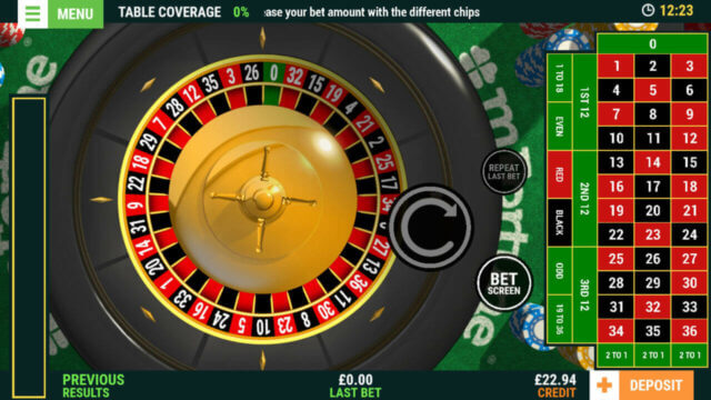 European Roulette (Online Roulette) game image by mfortune Casino