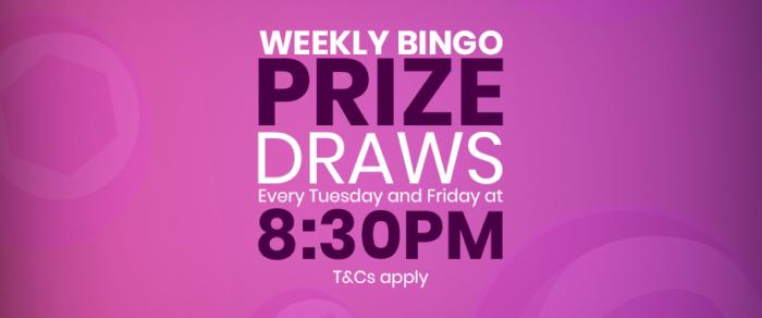 Weekly Bingo Prize Draws