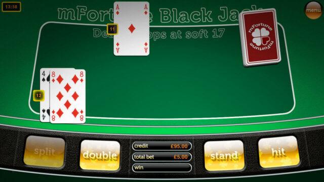 Blackjack by mFortune Casino game