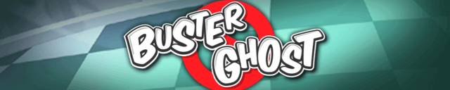 Buster Ghost mobile slots by mFortune Casino game logo