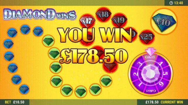 Wild Diamond Wins online slots game