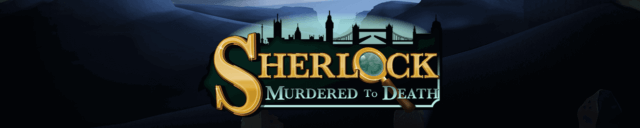 Sherlock: Murdered to Death mobile slots by mFortune Casino game logo