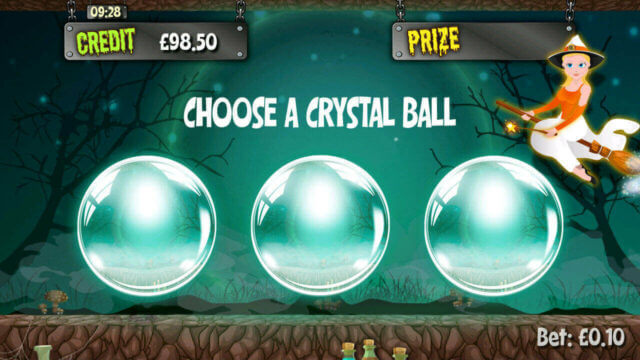 Which Witch Mini-Game in Which Witch mobile slots by mFortune