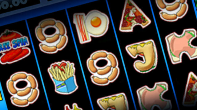Burger Man mobile slots reels