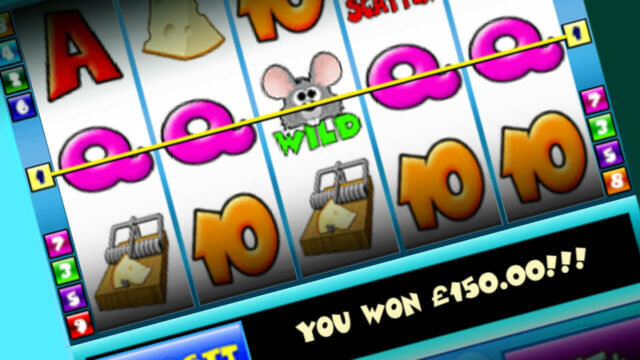 Cat & Mouse mobile slots by mFortune win line