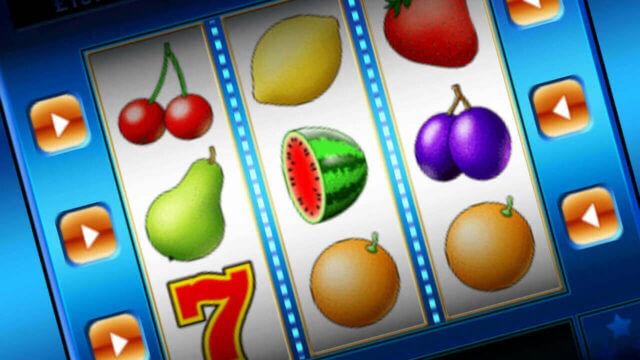 Fruit Machine mobile slots by mFortune Casino reels