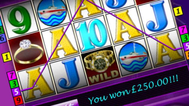 Monte Carlo mobile slots game screenshot