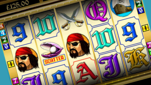 Pirate's Treasure mobile slots reels