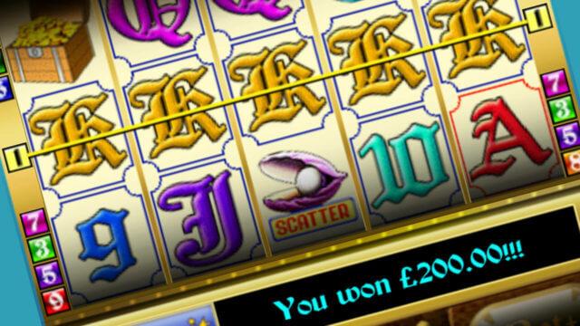 Pirate's Treasure mobile slots win line