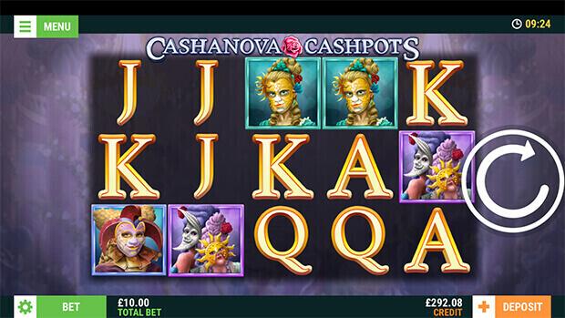 Cashanova Cashpots (Mobile Slots) game image at mfortune Casino