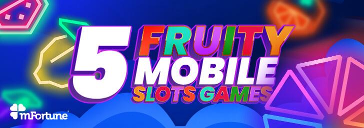 mFortune's Five Fruity Slots Games
