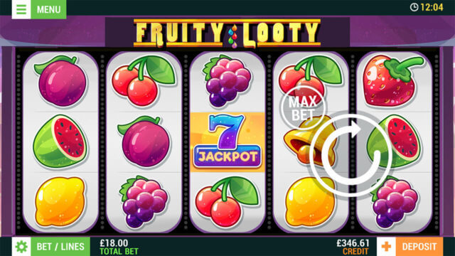 Fruity Looty (Mobile Slots) game image at mfortune Casino