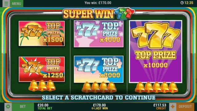 Super Win 7s (Mobile Slots) game image at mfortune Casino
