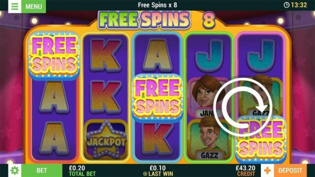 Spin a Win (Online slot) at mfortune-screenshot