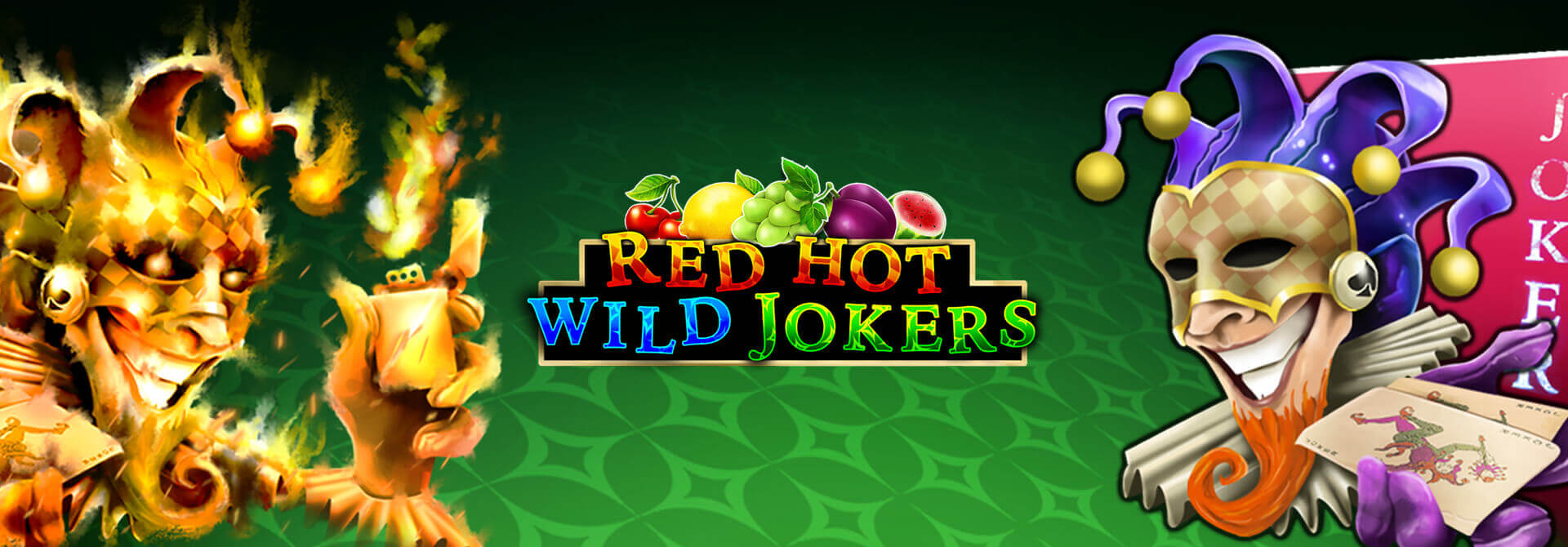 NEW GAME ALERT: Red Hot Wild Jokers