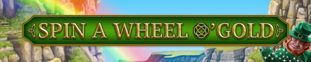 Spin a Wheel O'Gold mobile slots at mfortune Casino
